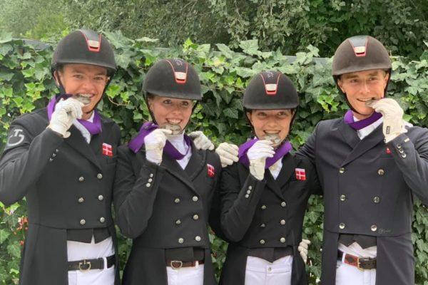 Sølvmedalje ved EM i Ungarn